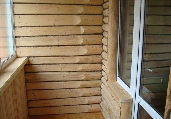 Отделка открытого балкона в деревянном доме. - балконные бло.